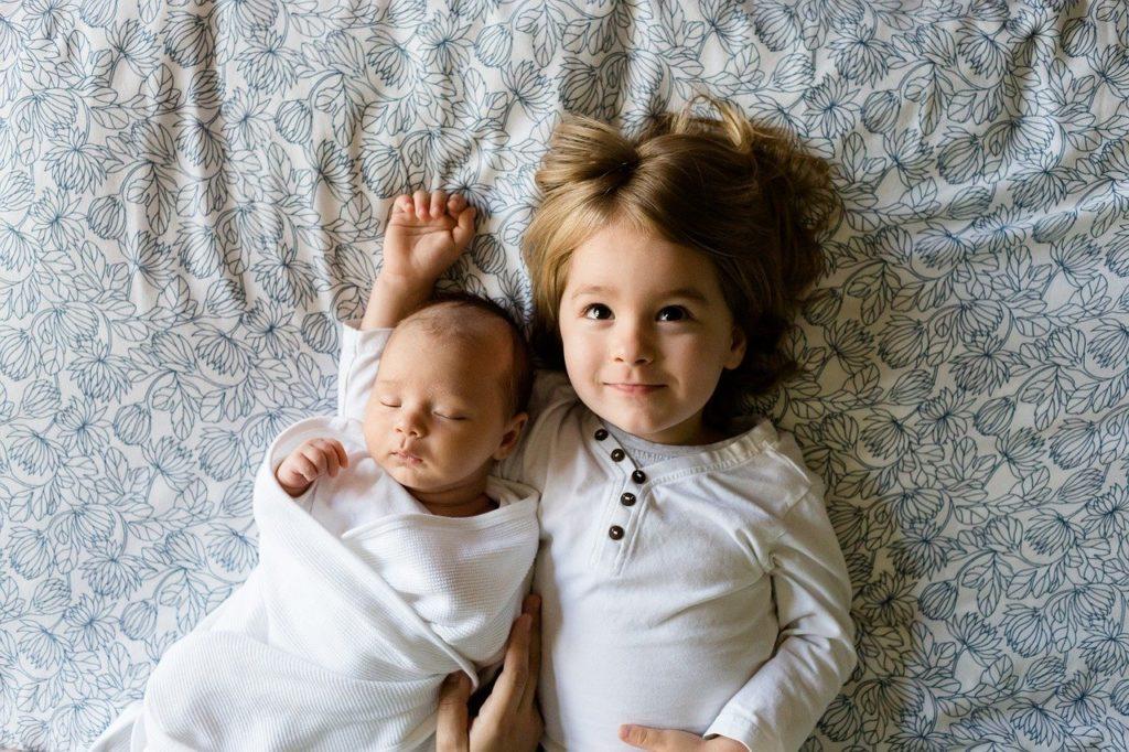 赤ちゃんと子ども