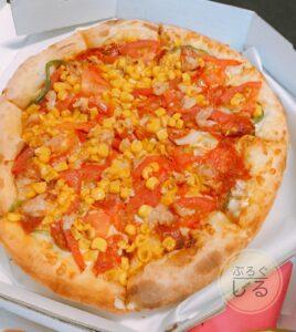 ロイヤルハットお持ち帰りピザミックスピザ