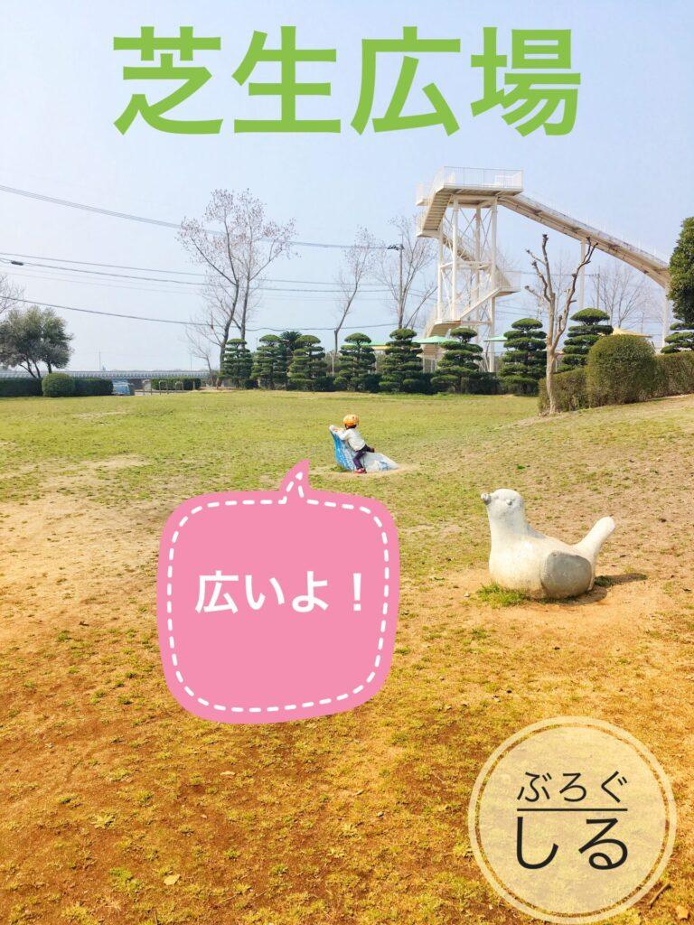 伊予三島運動公園の多目的グラウンド