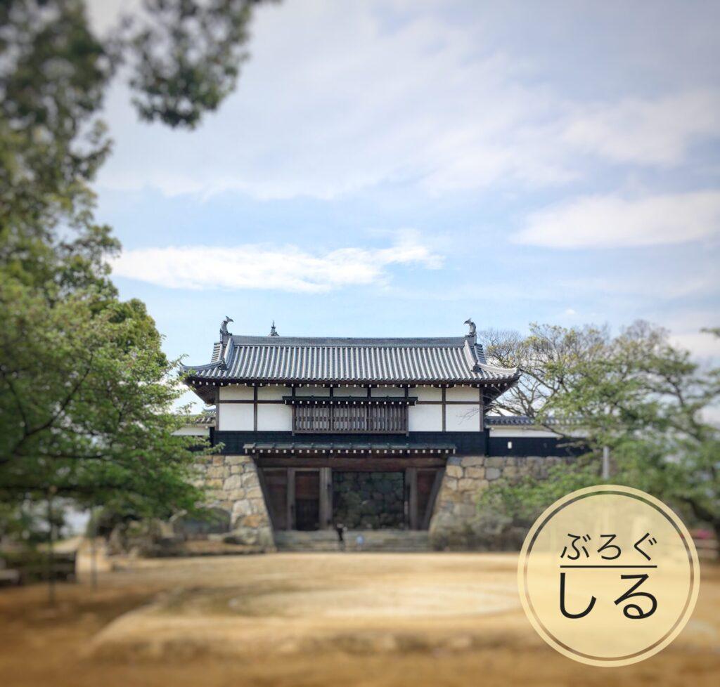 川之江城の景色