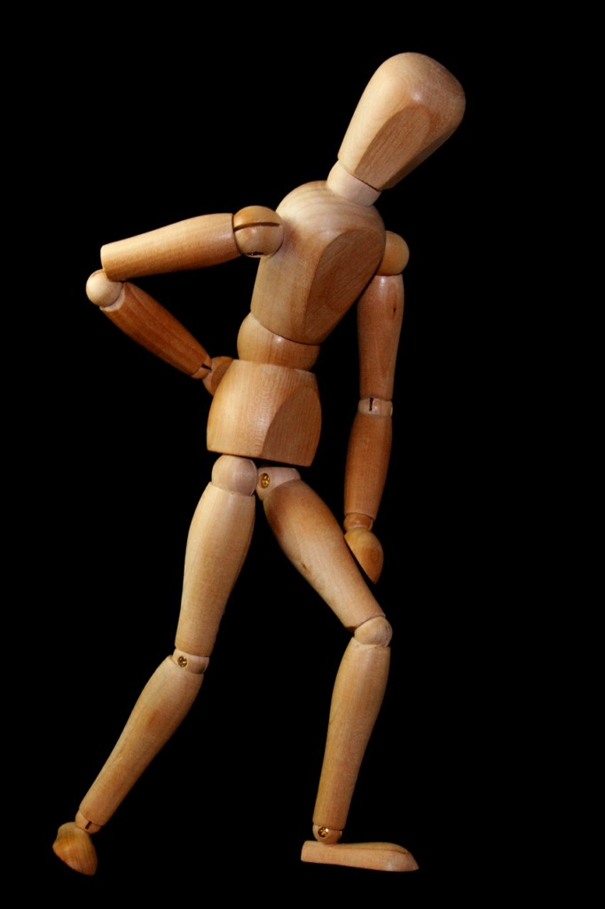 Figure Man To Stand Back Pain  - WolfBlur / Pixabay